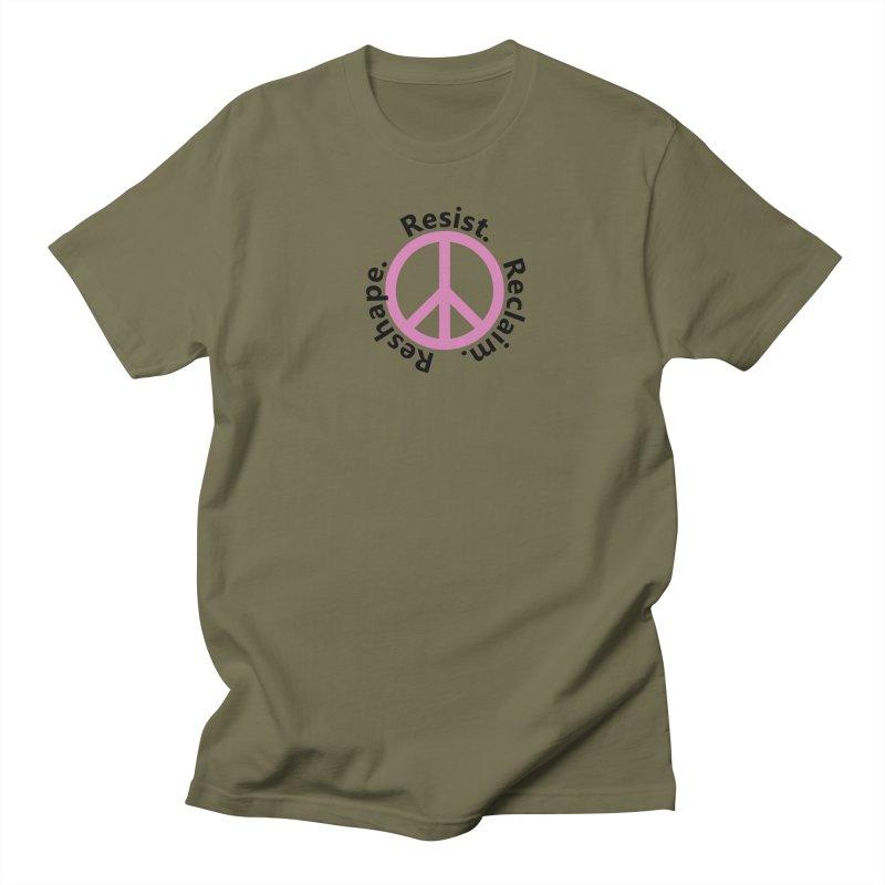 Resist. Reclaim. Reshape Women's Regular Unisex T-Shirt by Strange Menagerie