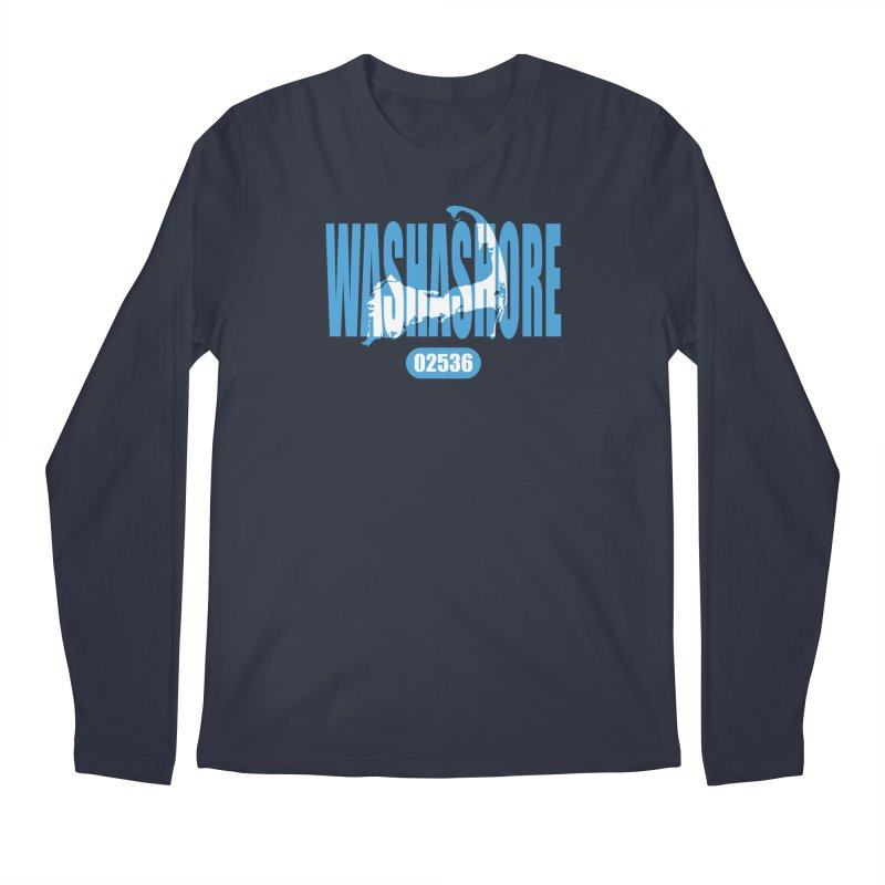 Cape Cod Washashore - 02536 Men's Regular Longsleeve T-Shirt by Strange Menagerie