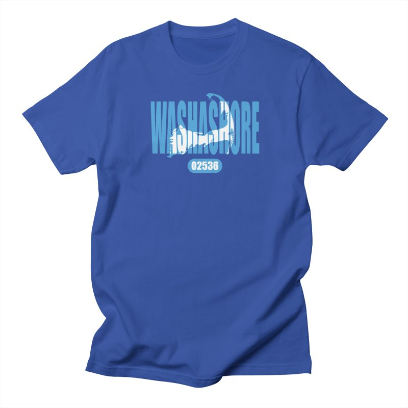 Cape Cod Washashore - 02536 Women's Unisex T-Shirt by Strange Menagerie