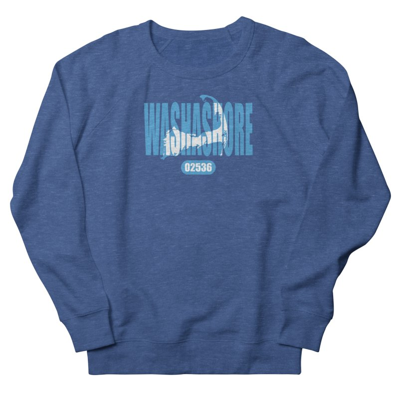 Cape Cod Washashore - 02536 Women's French Terry Sweatshirt by Strange Menagerie