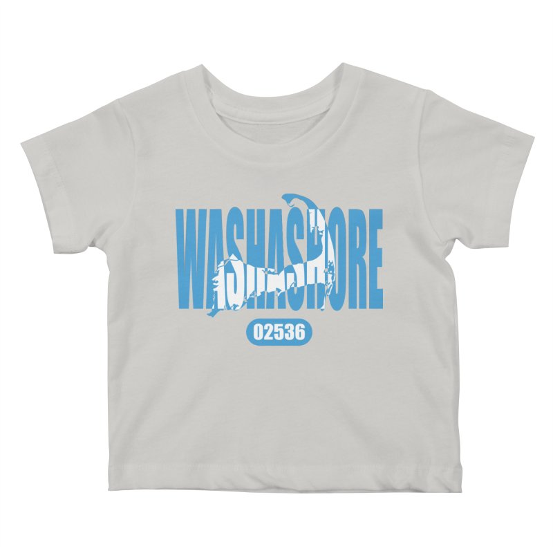 Cape Cod Washashore - 02536 Kids Baby T-Shirt by Strange Menagerie