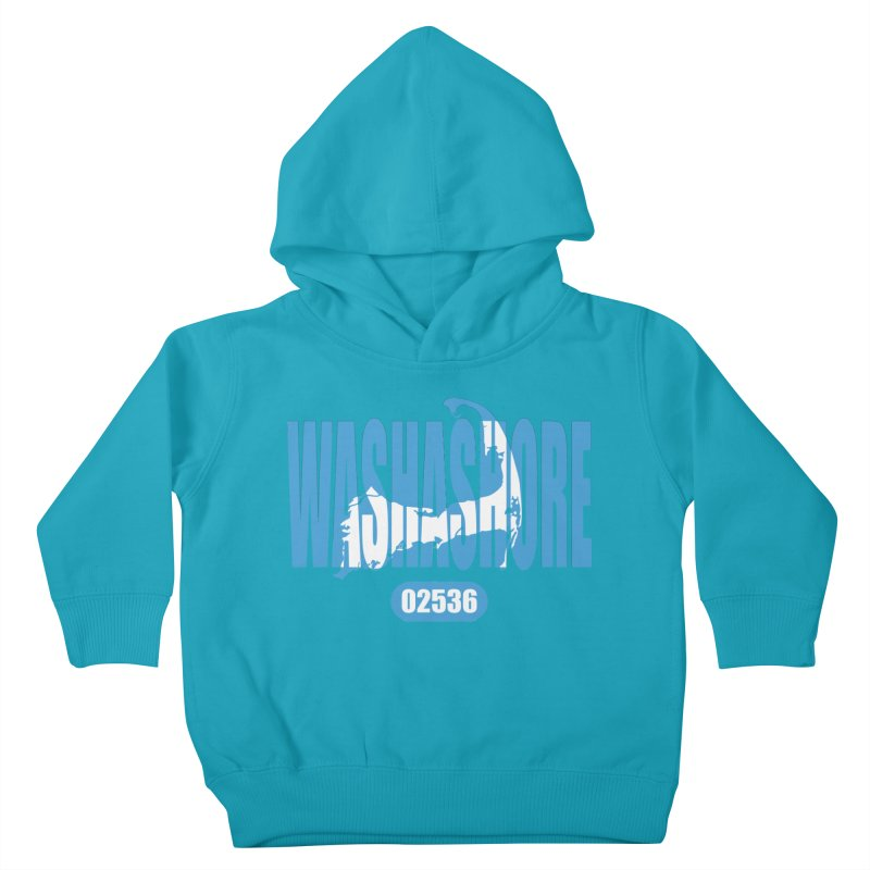 Cape Cod Washashore - 02536 Kids Toddler Pullover Hoody by Strange Menagerie