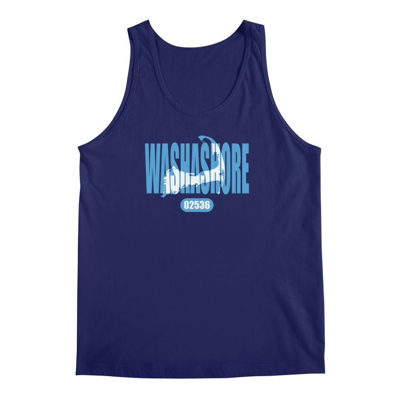 Cape Cod Washashore - 02536 Men's Tank by Strange Menagerie
