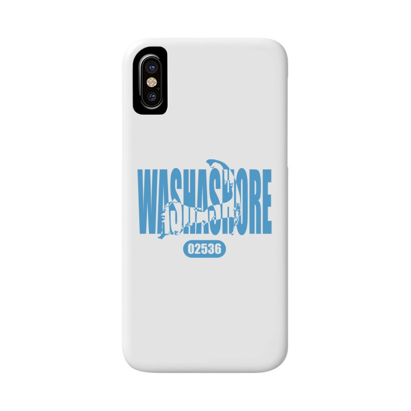 Cape Cod Washashore - 02536 Accessories Phone Case by Strange Menagerie