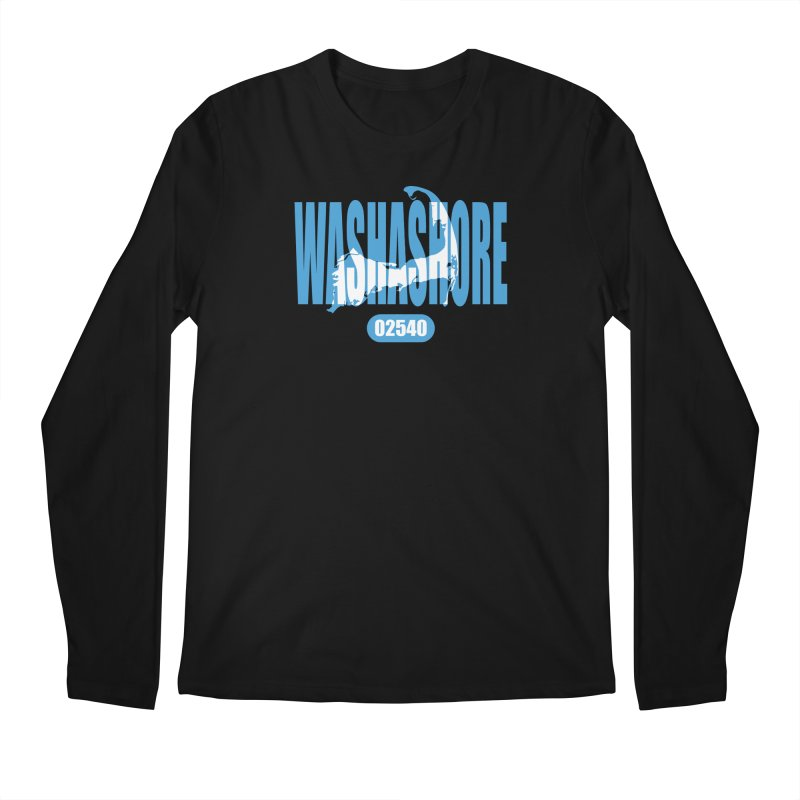 Cape Cod Washashore - 02540 [Falmouth] Men's Longsleeve T-Shirt by Strange Menagerie