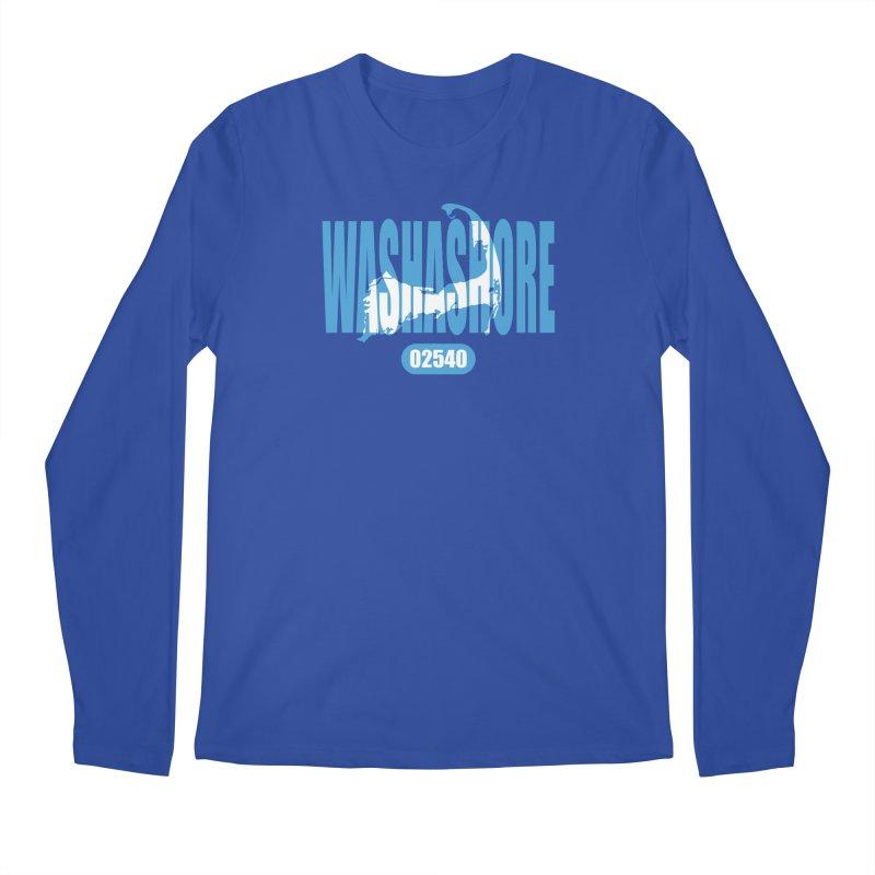 Cape Cod Washashore - 02540 [Falmouth] Men's Longsleeve T-Shirt by Strange Menagerie