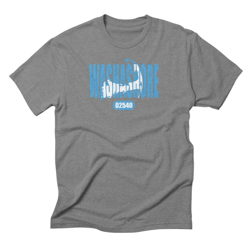 Cape Cod Washashore - 02540 [Falmouth] Men's Triblend T-Shirt by Strange Menagerie