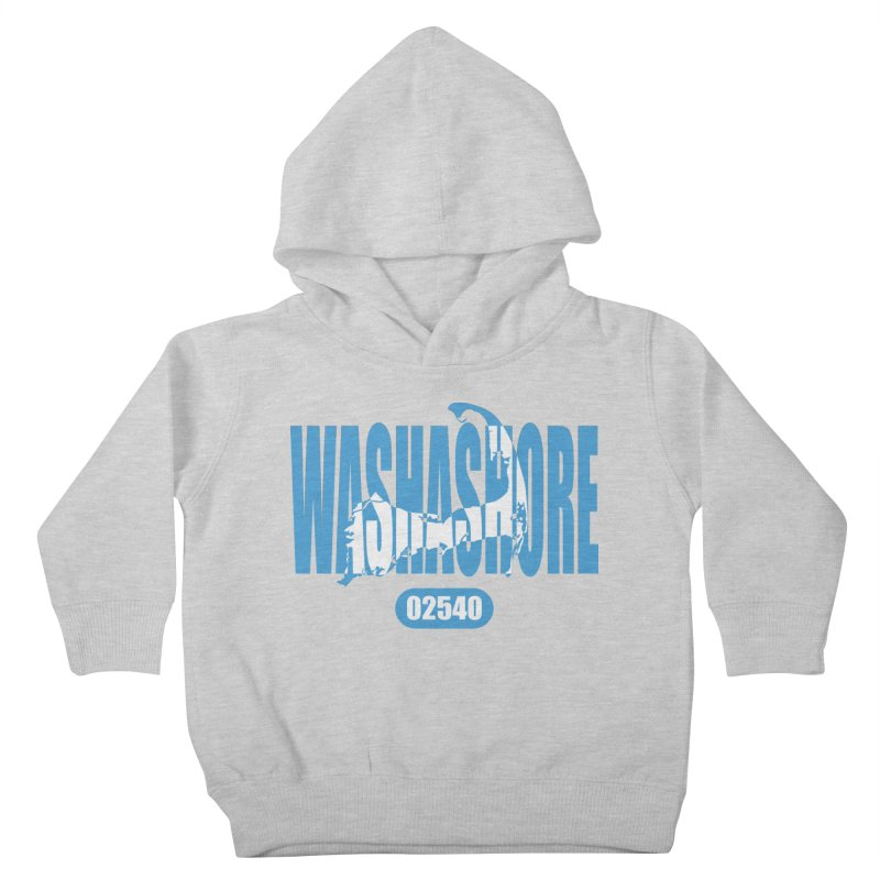 Cape Cod Washashore - 02540 [Falmouth] Kids Toddler Pullover Hoody by Strange Menagerie