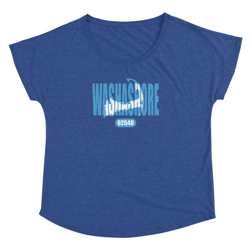Cape Cod Washashore - 02540 [Falmouth] Women's Dolman by Strange Menagerie