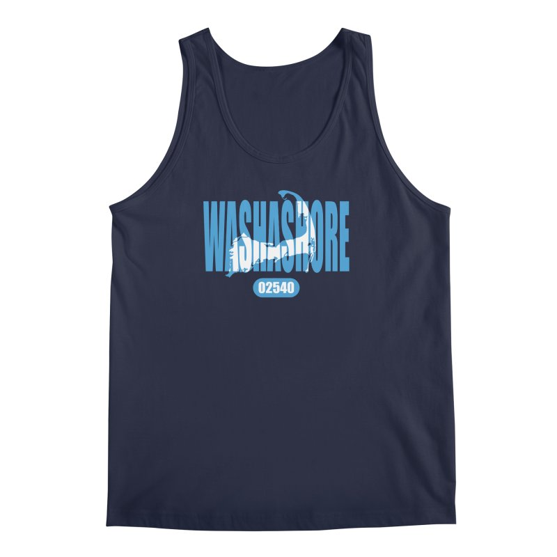 Cape Cod Washashore - 02540 [Falmouth] Men's Tank by Strange Menagerie