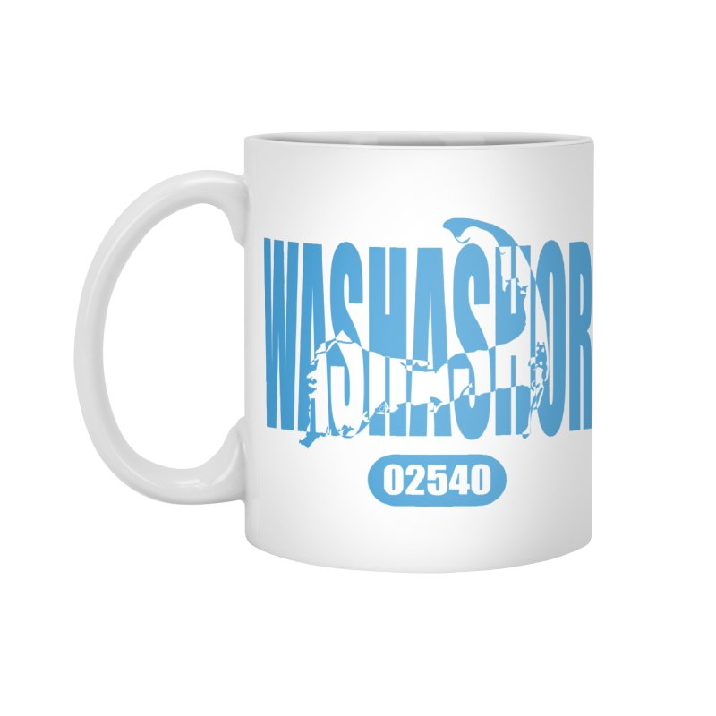 Cape Cod Washashore - 02540 [Falmouth] Accessories Mug by Strange Menagerie