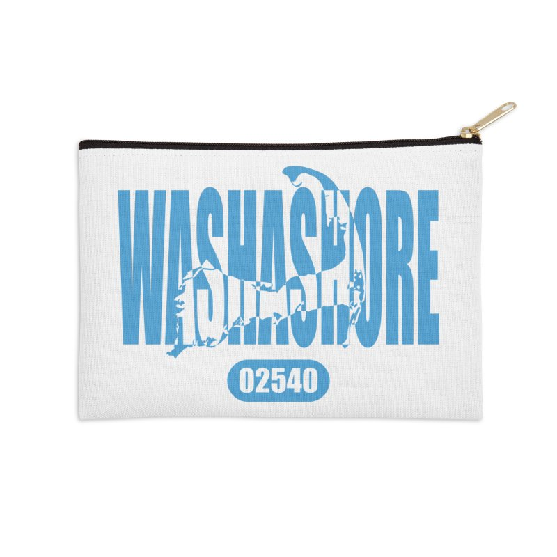 Cape Cod Washashore - 02540 [Falmouth] Accessories Zip Pouch by Strange Menagerie