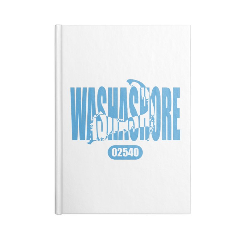 Cape Cod Washashore - 02540 [Falmouth] Accessories Notebook by Strange Menagerie