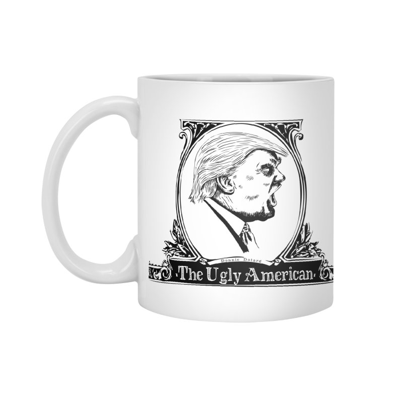 The Ugly American Accessories Mug by Strange Menagerie