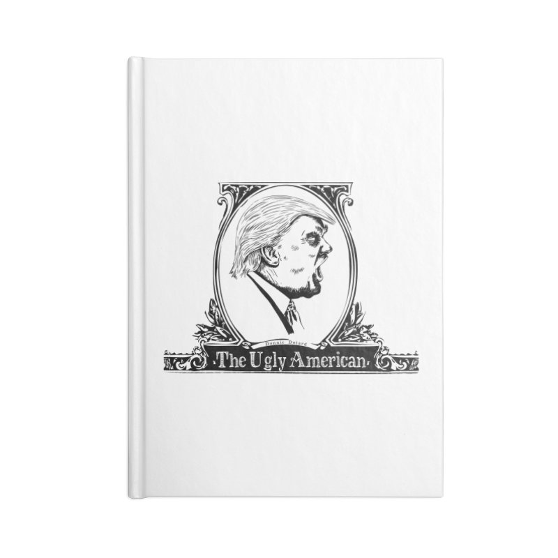 The Ugly American Accessories Notebook by Strange Menagerie