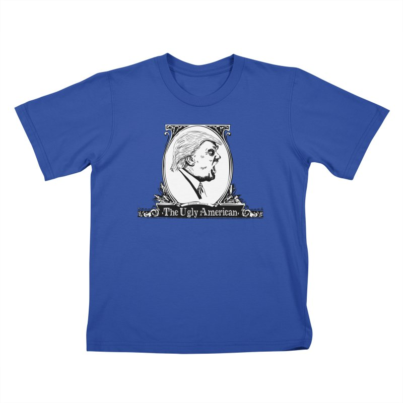 The Ugly American Kids T-Shirt by Strange Menagerie