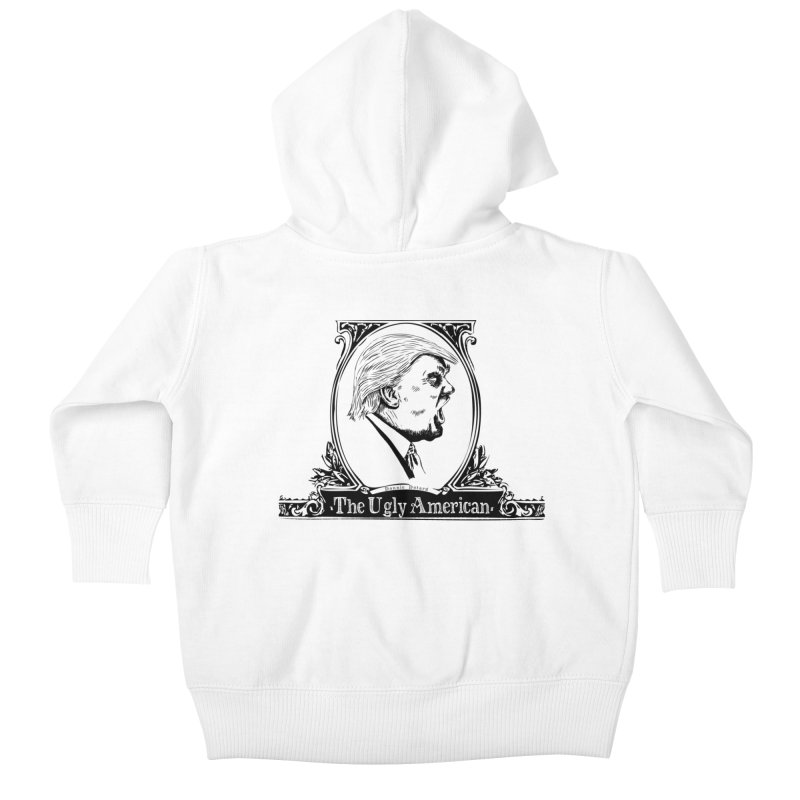 The Ugly American Kids Baby Zip-Up Hoody by Strange Menagerie