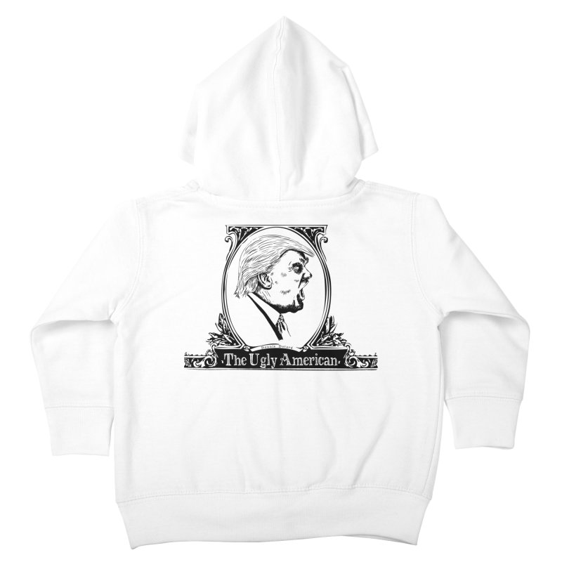 The Ugly American Kids Toddler Zip-Up Hoody by Strange Menagerie