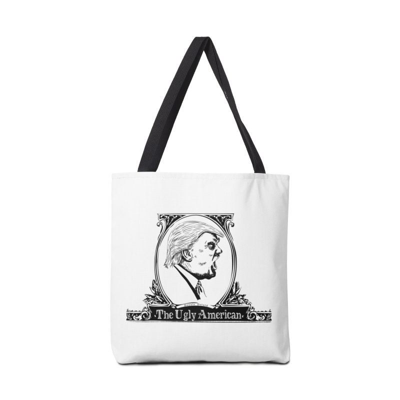 The Ugly American Accessories Bag by Strange Menagerie
