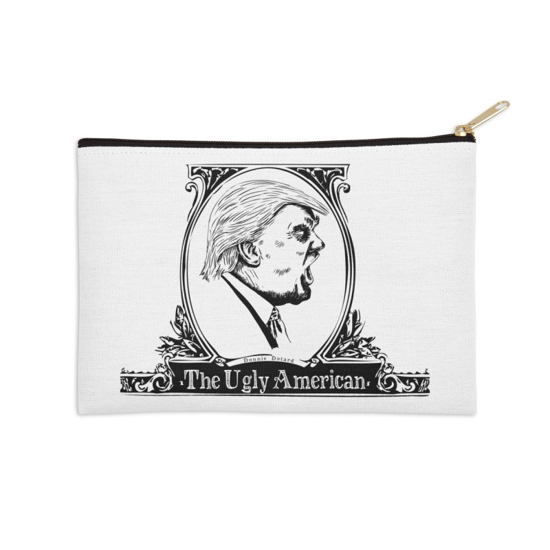 The Ugly American Accessories Zip Pouch by Strange Menagerie