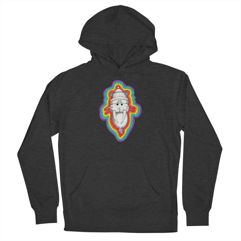 Walrus Monkey God Women's Pullover Hoody by Strange Menagerie