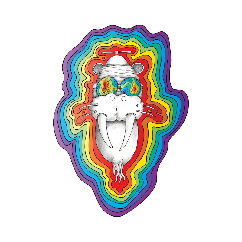 Walrus Monkey God [Hippie Daze] by Strange Menagerie