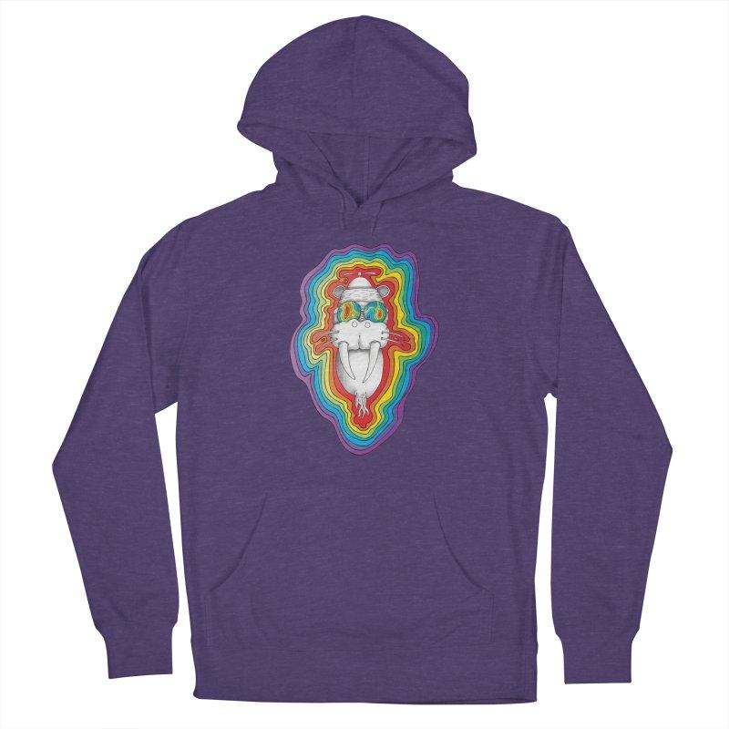 Walrus Monkey God [Hippie Daze] Women's Pullover Hoody by Strange Menagerie