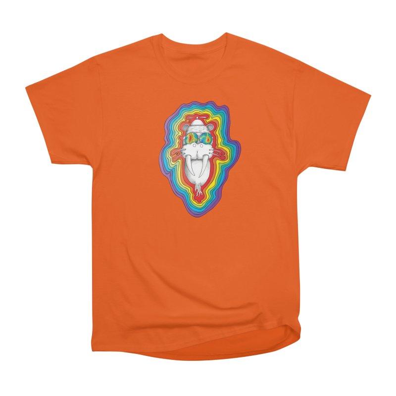 Walrus Monkey God [Hippie Daze] Women's Classic Unisex T-Shirt by Strange Menagerie