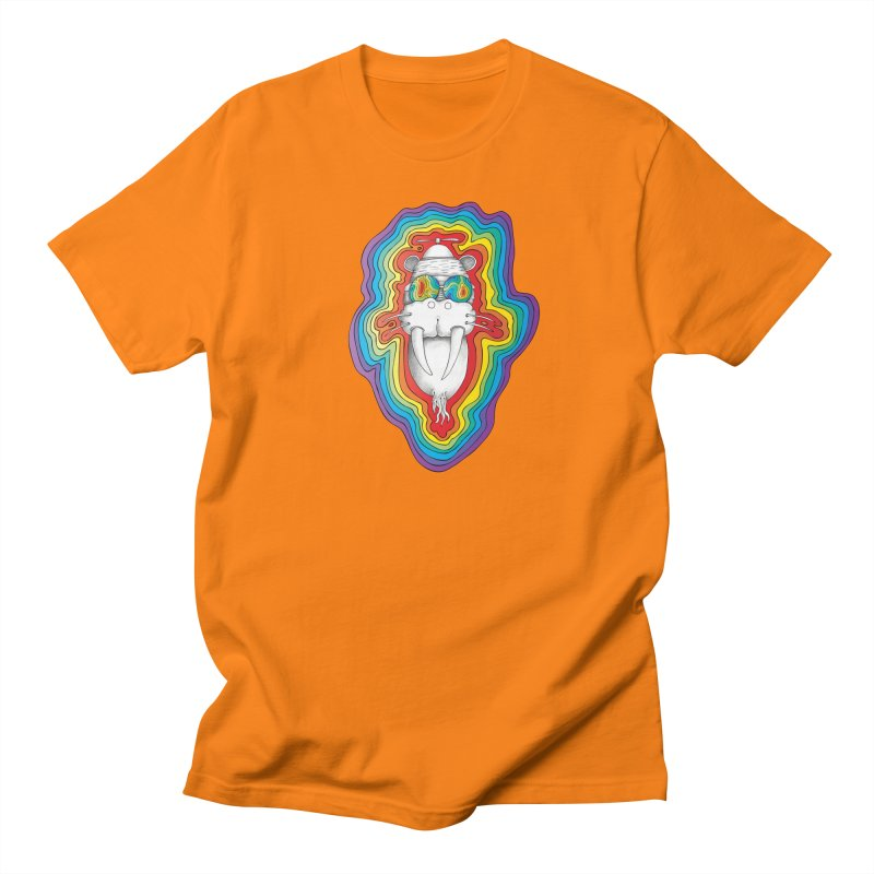 Walrus Monkey God [Hippie Daze] Women's Regular Unisex T-Shirt by Strange Menagerie