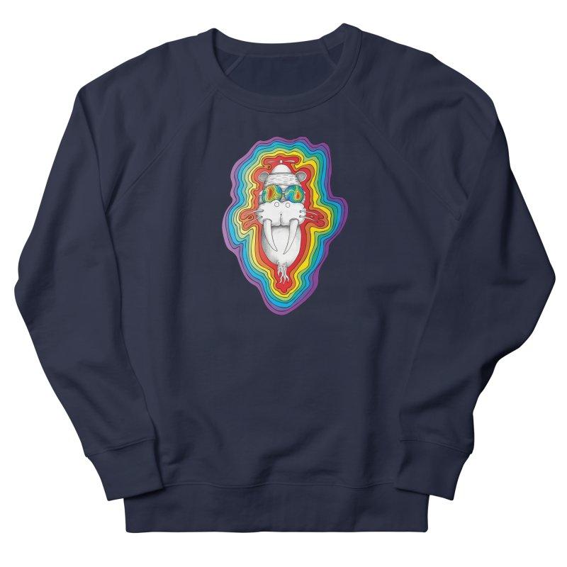 Walrus Monkey God [Hippie Daze] Women's Sweatshirt by Strange Menagerie