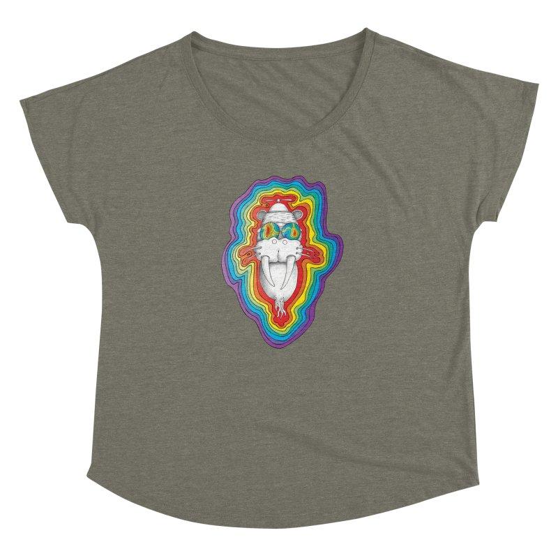 Walrus Monkey God [Hippie Daze] Women's Dolman by Strange Menagerie