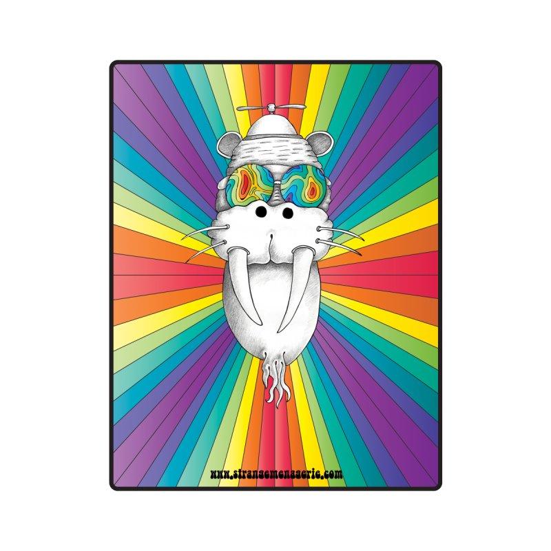 Psychedelic Walrus Monkey God Variation 2 by Strange Menagerie