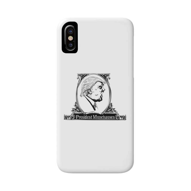 President Munchausen Accessories Phone Case by Strange Menagerie