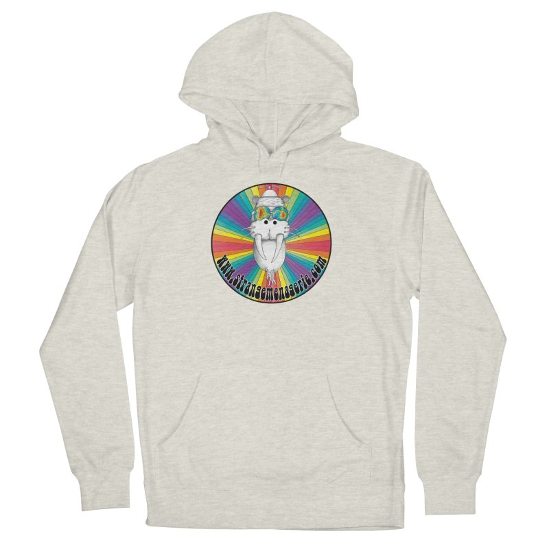 Psychedelic Walrus Money God *in the round* :) Women's French Terry Pullover Hoody by Strange Menagerie