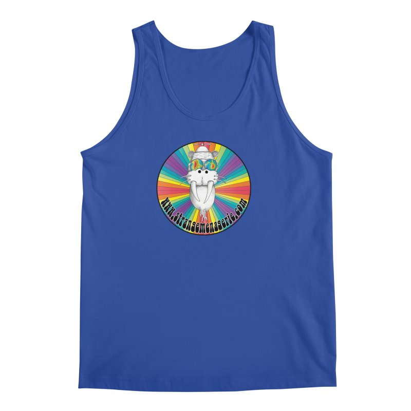 Psychedelic Walrus Money God *in the round* :) Men's Regular Tank by Strange Menagerie