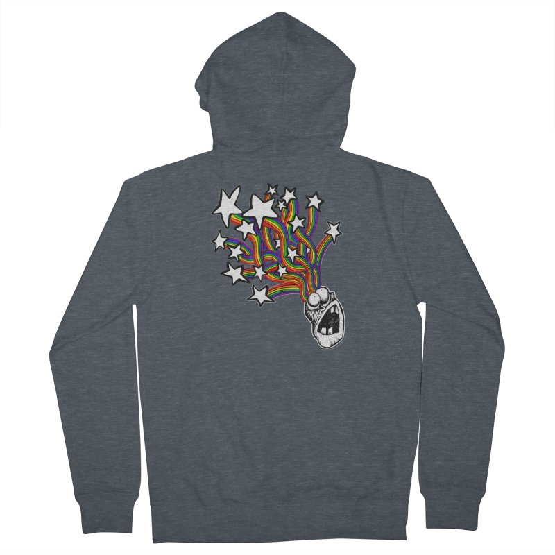 My Mind Is Full Of Stars!!!! Women's French Terry Zip-Up Hoody by Strange Menagerie