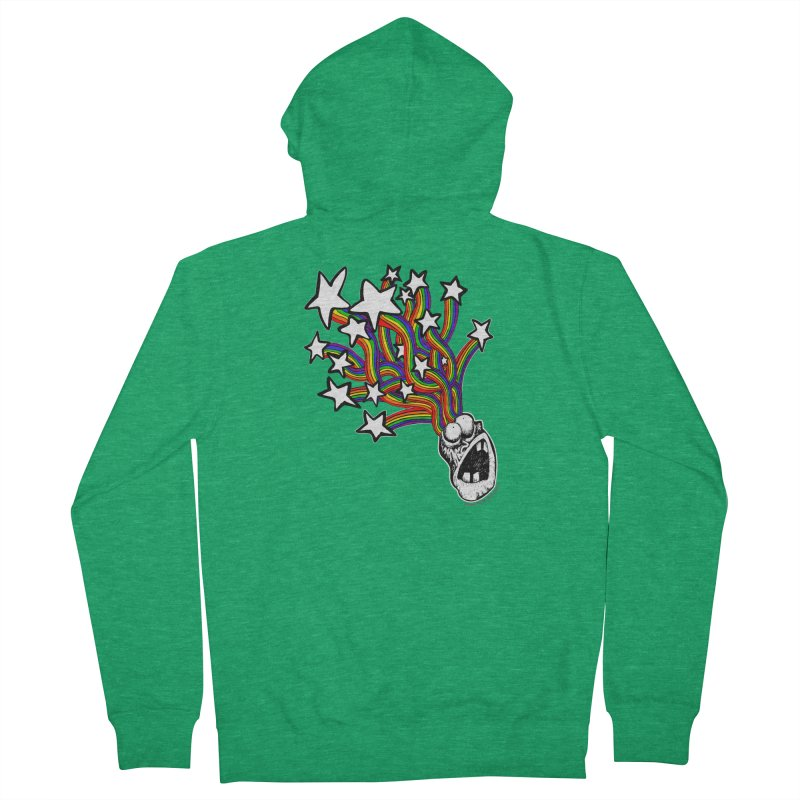 My Mind Is Full Of Stars!!!! Men's French Terry Zip-Up Hoody by Strange Menagerie