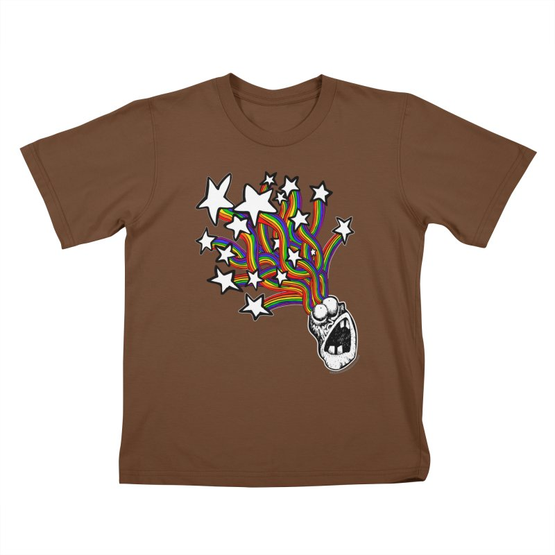 My Mind Is Full Of Stars!!!! Kids T-Shirt by Strange Menagerie