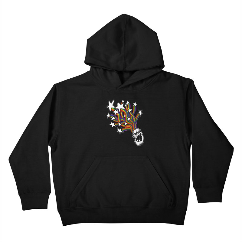 My Mind Is Full Of Stars!!!! Kids Pullover Hoody by Strange Menagerie