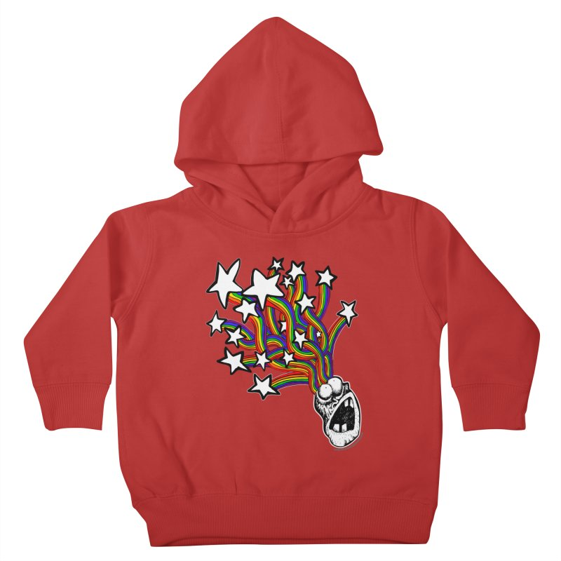 My Mind Is Full Of Stars!!!! Kids Toddler Pullover Hoody by Strange Menagerie