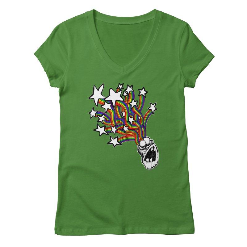 My Mind Is Full Of Stars!!!! Women's Regular V-Neck by Strange Menagerie