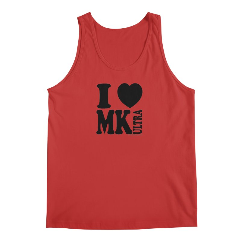 I Heart MK Ultra Men's Regular Tank by Strange Menagerie