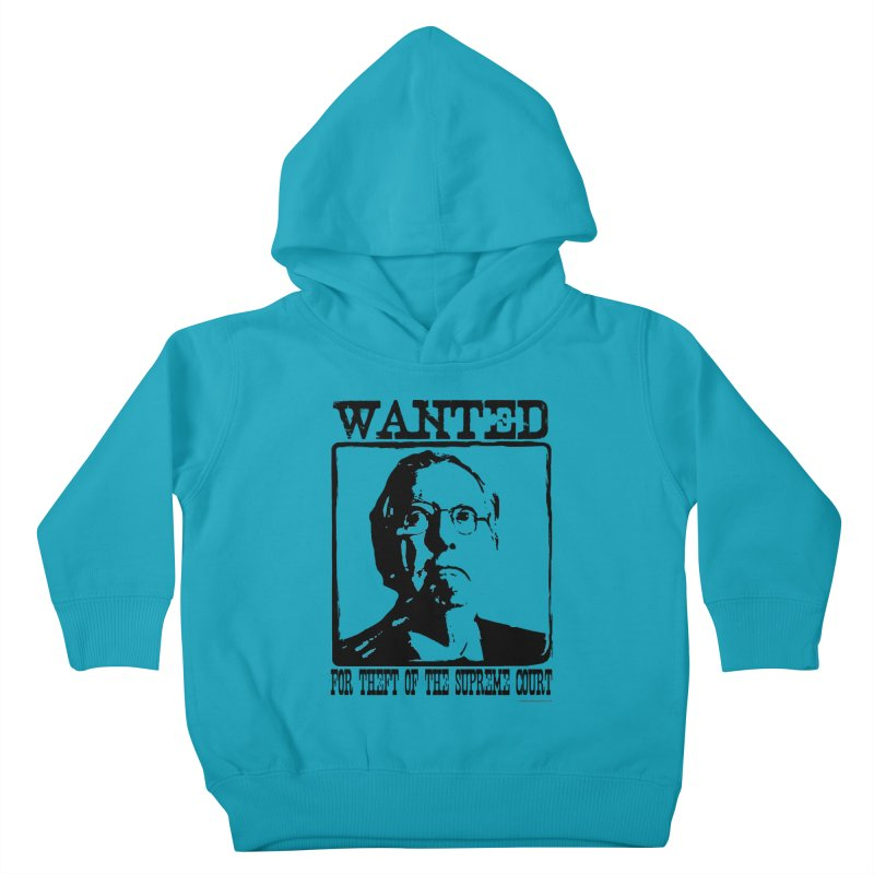 Mitch *The Bandito* McConnell Kids Toddler Pullover Hoody by Strange Menagerie