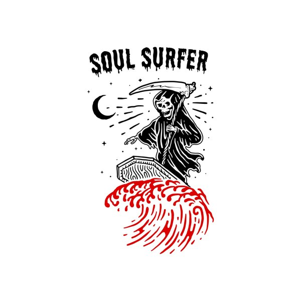 Design for Soul Surfer Funny Grim Reaper Edit