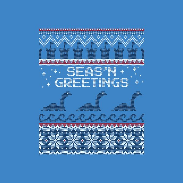 Design for Seas 'N Greetings with Nessie // Ugly Christmas Cryptids