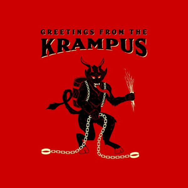 Design for Greetings from the Krampus