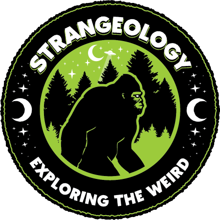 Logo for Strangeology | Exploring the Weird