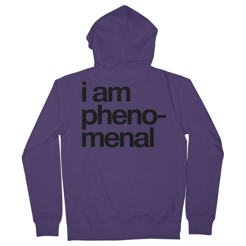 i am phenomenal Women's Zip-Up Hoody by omelette