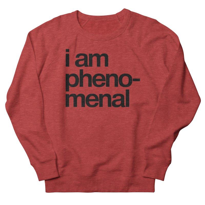 i am phenomenal Women's Sweatshirt by omelette