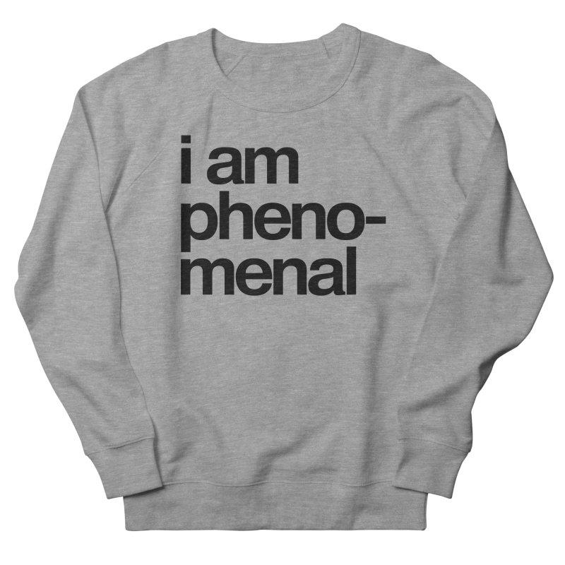 i am phenomenal Men's Sweatshirt by omelette